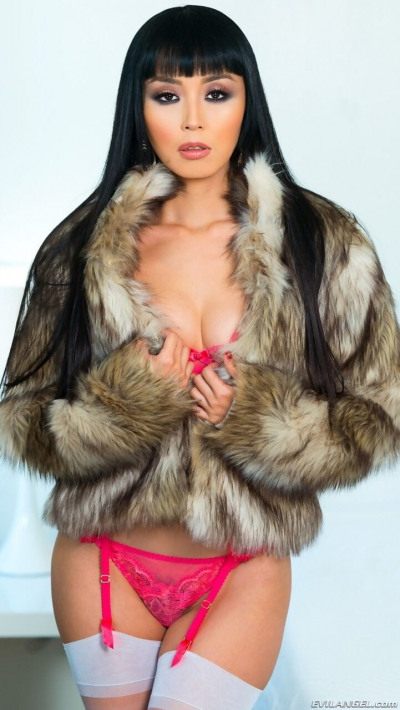 Milf in lingerie and fur pictures Pics Japanese Milf Marica Hase In Fur Coat Lingerie Milf Yourasianpics Com